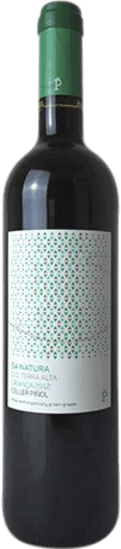 9,95 € Free Shipping | Red wine Piñol Sa Natura Crianza D.O. Terra Alta Catalonia Spain Merlot, Syrah, Mazuelo, Carignan, Petit Verdot Bottle 75 cl