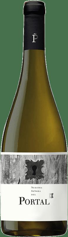 7,95 € Envío gratis | Vino blanco Piñol Nostra Senyora del Portal Joven D.O. Terra Alta Cataluña España Garnacha Blanca, Viognier, Macabeo, Sauvignon Blanca Botella 75 cl