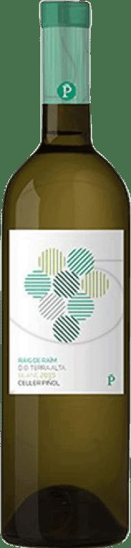 7,95 € Free Shipping | White wine Piñol Raig de Raïm Joven D.O. Terra Alta Catalonia Spain Grenache White, Macabeo Bottle 75 cl