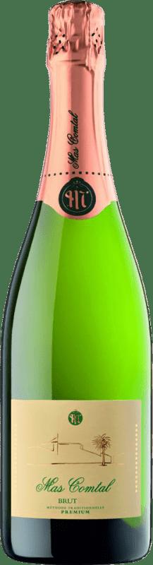 11,95 € Envío gratis | Espumoso blanco Mas Comtal Brut Reserva D.O. Penedès Cataluña España Xarel·lo, Chardonnay Botella 75 cl