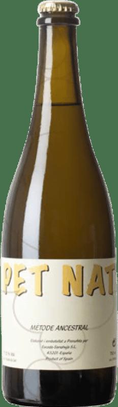 19,95 € Envío gratis | Espumoso blanco Escoda Sanahuja Pet Nat Ancestral Cataluña España Sumoll, Parellada Botella 75 cl