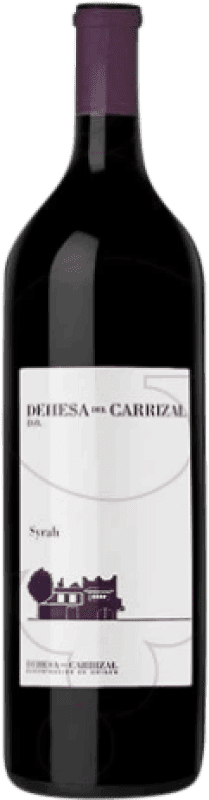 19,95 € Free Shipping | Red wine Dehesa del Carrizal Crianza D.O.P. Vino de Pago Dehesa del Carrizal Castilla la Mancha y Madrid Spain Syrah Magnum Bottle 1,5 L