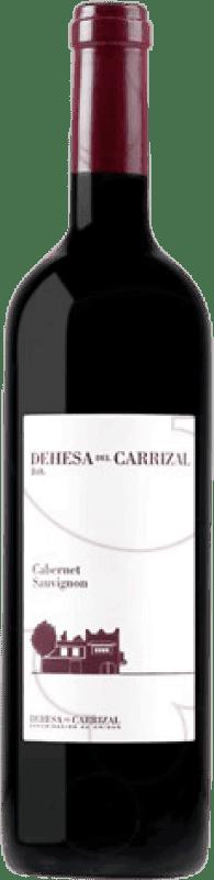 9,95 € Free Shipping | Red wine Dehesa del Carrizal Crianza D.O.P. Vino de Pago Dehesa del Carrizal Castilla la Mancha y Madrid Spain Cabernet Sauvignon Bottle 75 cl