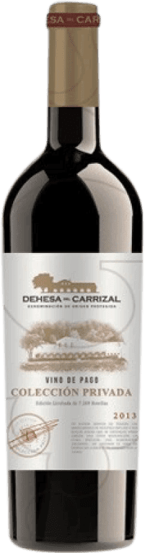 37,95 € Free Shipping | Red wine Dehesa del Carrizal Colección Privada Crianza D.O.P. Vino de Pago Dehesa del Carrizal Castilla la Mancha y Madrid Spain Merlot, Syrah, Cabernet Sauvignon, Petit Verdot Magnum Bottle 1,5 L