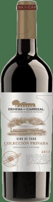 37,95 € Envoi gratuit | Vin rouge Dehesa del Carrizal Colección Privada Crianza D.O.P. Vino de Pago Dehesa del Carrizal Castilla la Mancha y Madrid Espagne Merlot, Syrah, Cabernet Sauvignon, Petit Verdot Bouteille Magnum 1,5 L