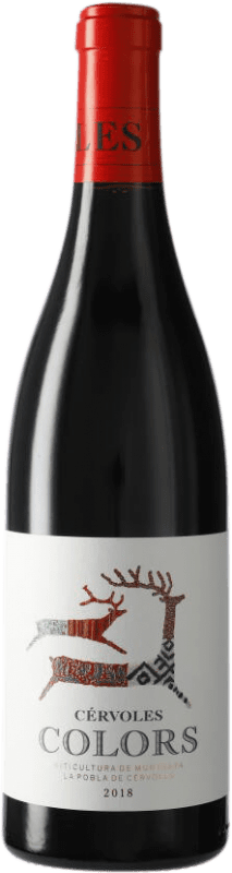 9,95 € | Red wine Cérvoles Colors D.O. Costers del Segre Catalonia Spain Tempranillo, Syrah, Grenache Bottle 75 cl