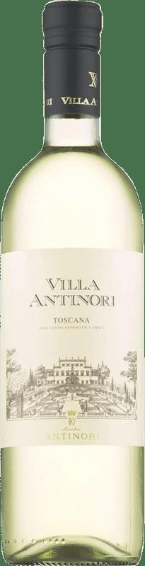 12,95 € Free Shipping | White wine Pèppoli Villa Antinori Joven Otras D.O.C. Italia Italy Malvasía, Trebbiano, Riesling, Pinot Grey, Pinot White Bottle 75 cl