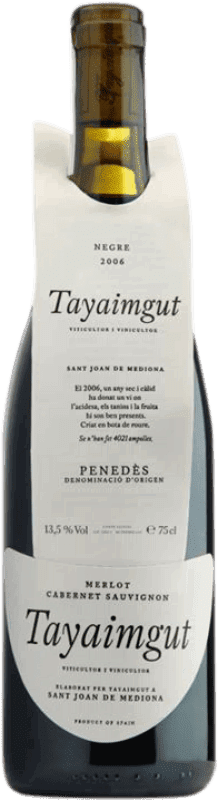 16,95 € | Red wine Tayaimgut Crianza Catalonia Spain Cabernet Sauvignon Bottle 75 cl