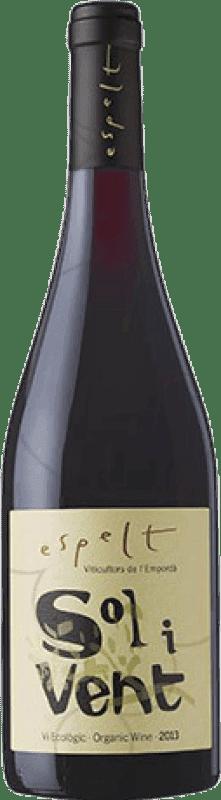 9,95 € | Red wine Espelt Solivent Ecológico Joven D.O. Empordà Catalonia Spain Syrah, Grenache, Monastrell Bottle 75 cl