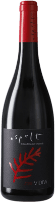 6,95 € | Red wine Espelt Vidivi Crianza D.O. Empordà Catalonia Spain Merlot, Grenache Half Bottle 50 cl