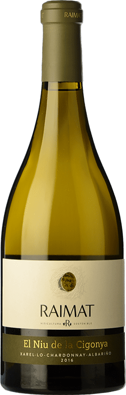 14,95 € | White wine Raimat El Niu de la Cigonya Crianza D.O. Costers del Segre Catalonia Spain Bottle 75 cl