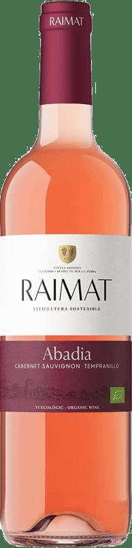 7,95 € Free Shipping | Rosé wine Raimat Rosada Joven D.O. Costers del Segre Catalonia Spain Tempranillo, Cabernet Sauvignon Bottle 75 cl