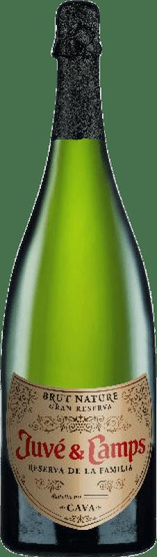 31,95 € | White sparkling Juvé y Camps Reserva Familiar Brut Nature Reserva D.O. Cava Catalonia Spain Macabeo, Xarel·lo, Parellada Magnum Bottle 1,5 L