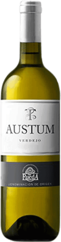 8,95 € Free Shipping | White wine Tionio Austum Joven D.O. Rueda Castilla y León Spain Verdejo Bottle 75 cl