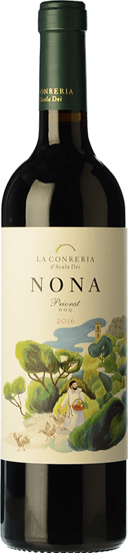 11,95 € Free Shipping | Red wine La Conreria de Scala Dei Nona Crianza D.O.Ca. Priorat Catalonia Spain Merlot, Syrah, Grenache Bottle 75 cl