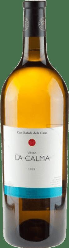 98,95 € Free Shipping | White wine Can Ràfols La Calma Crianza D.O. Penedès Catalonia Spain Chenin White Magnum Bottle 1,5 L