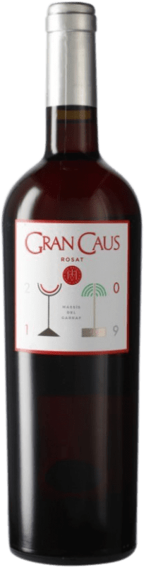14,95 € Free Shipping | Rosé wine Can Ràfols Gran Caus Joven D.O. Penedès Catalonia Spain Merlot Bottle 75 cl