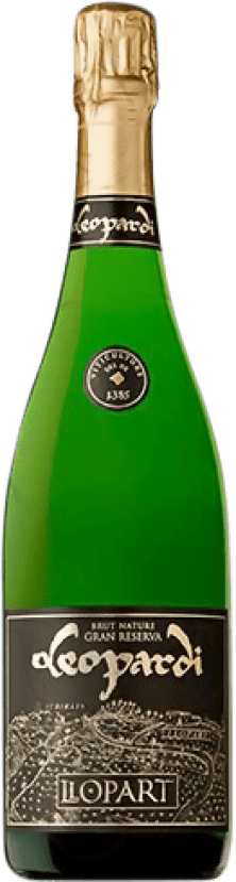 22,95 € Free Shipping | White sparkling Llopart Leopardi Brut Nature Gran Reserva D.O. Cava Catalonia Spain Macabeo, Xarel·lo, Chardonnay, Parellada Bottle 75 cl
