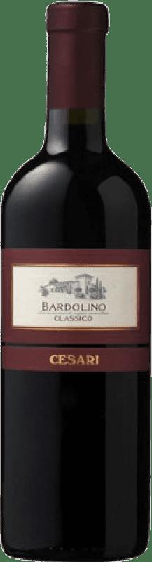 11,95 € Free Shipping | Red wine Cesari Classico Crianza D.O.C. Valpolicella Italy Corvina, Rondinella, Molinara Bottle 75 cl