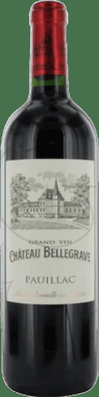 29,95 € Free Shipping | Red wine Château Belgrave Bellegrave Crianza A.O.C. Bordeaux France Merlot, Cabernet Sauvignon Bottle 75 cl