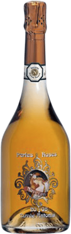 16,95 € Free Shipping | Rosé sparkling Naveran Perles Roses Brut Joven D.O. Cava Catalonia Spain Pinot Black Bottle 75 cl