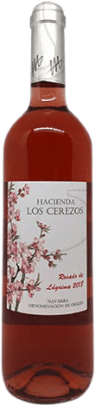 5,95 € Free Shipping | Rosé wine Castillo de Monjardín Finca las Rosas Joven D.O. Navarra Navarre Spain Tempranillo, Cabernet Franc Bottle 75 cl