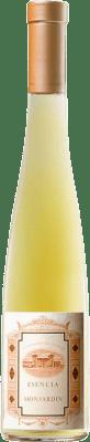 43,95 € Free Shipping | Fortified wine Castillo de Monjardín Esencia de Monjardin 2010 D.O. Navarra Navarre Spain Chardonnay Half Bottle 37 cl