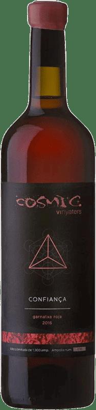 21,95 € | Rosé wine Còsmic Confianca GX Roja Joven Catalonia Spain Bottle 75 cl