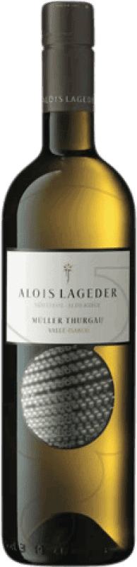 14,95 € Free Shipping | White wine Lageder Joven Otras D.O.C. Italia Italy Müller-Thurgau Bottle 75 cl