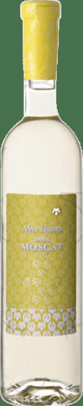 8,95 € Free Shipping | Fortified wine Mas Llunes Dolç Moscat Sweet D.O. Empordà Catalonia Spain Muscat Bottle 75 cl