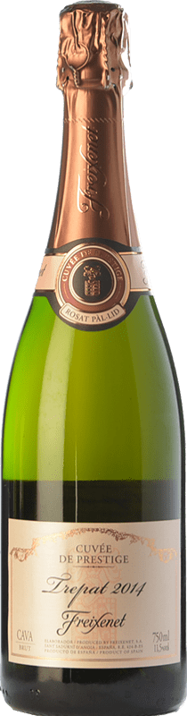 11,95 € Free Shipping   Rosé sparkling Freixenet Rosat Brut Joven D.O. Cava Catalonia Spain Trepat Bottle 75 cl