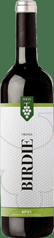 7,95 € Free Shipping | Red wine Marqués de Terán Berdie Crianza D.O.Ca. Rioja The Rioja Spain Tempranillo, Mazuelo, Carignan Bottle 75 cl