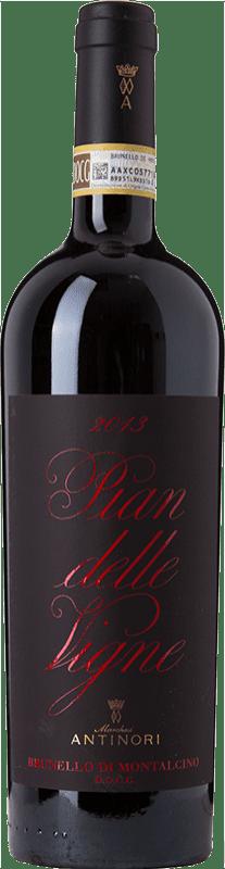 62,95 € Free Shipping | Red wine Pian delle Vigne D.O.C.G. Brunello di Montalcino Italy Sangiovese Bottle 75 cl