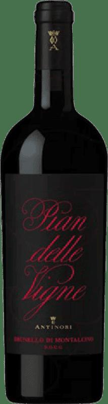 128,95 € Free Shipping | Red wine Pian delle Vigne D.O.C.G. Brunello di Montalcino Italy Sangiovese Magnum Bottle 1,5 L