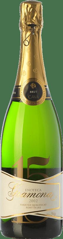 159,95 € | White sparkling Gramona Enoteca Brut Gran Reserva D.O. Cava Catalonia Spain Macabeo, Xarel·lo Bottle 75 cl