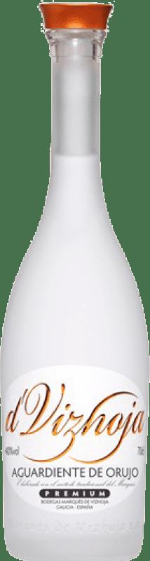 11,95 € Envío gratis | Orujo Marqués de Vizhoja España Botella 70 cl