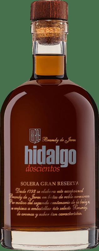 36,95 € Envío gratis | Brandy La Gitana Hidalgo 200 Solera Gran Reserva España Botella 70 cl