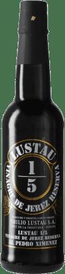 7,95 € Envío gratis | Vinagre Lustau 1/5 España Botellín 37 cl