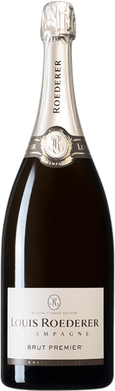 104,95 € | White sparkling Louis Roederer Brut Gran Reserva A.O.C. Champagne France Pinot Black, Chardonnay, Pinot Meunier Magnum Bottle 1,5 L
