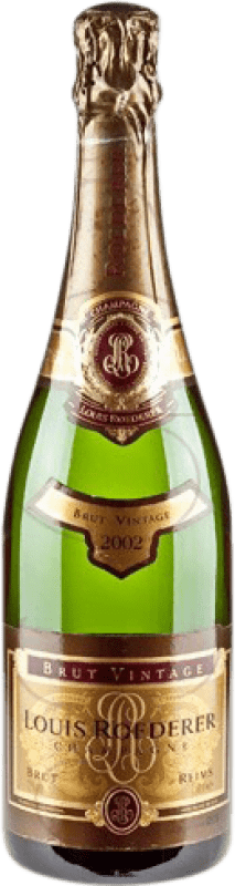 89,95 € Free Shipping | White sparkling Louis Roederer Vintage Brut Gran Reserva A.O.C. Champagne France Pinot Black, Chardonnay Bottle 75 cl
