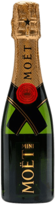 14,95 € | White sparkling Moët & Chandon Imperial Brut Gran Reserva A.O.C. Champagne France Pinot Black, Chardonnay, Pinot Meunier Small Bottle 20 cl