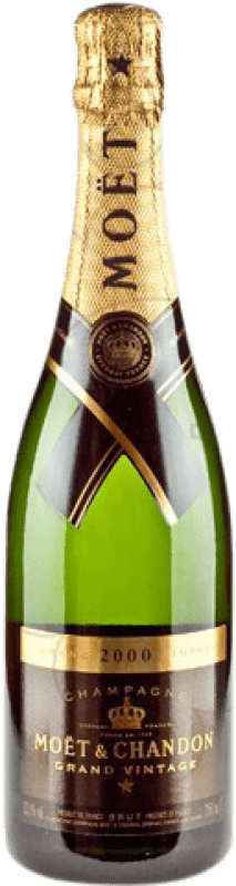 58,95 € | White sparkling Moët & Chandon Grand Vintage Brut Gran Reserva 2009 A.O.C. Champagne France Pinot Black, Chardonnay, Pinot Meunier Bottle 75 cl