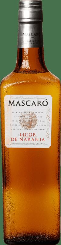 17,95 € Envoi gratuit | Triple Sec Mascaró Gran Licor de Naranja Espagne Bouteille 70 cl