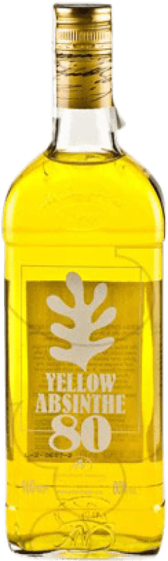 18,95 € Free Shipping | Absinthe Antonio Nadal 80 Yellow Spain Bottle 70 cl