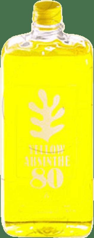 19,95 € Envoi gratuit | Absinthe Antonio Nadal 80 Yellow Espagne Petaca 1 L