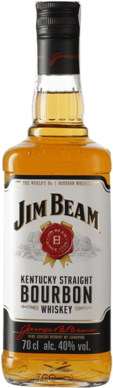 13,95 € Free Shipping | Bourbon Suntory Jim Beam United States Bottle 70 cl