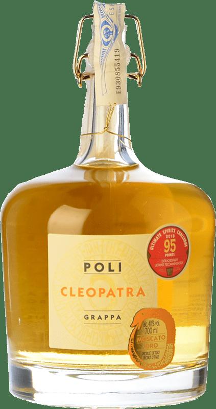 41,95 € 免费送货 | 格拉帕 Poli Cleopatra Oro 意大利 瓶子 70 cl