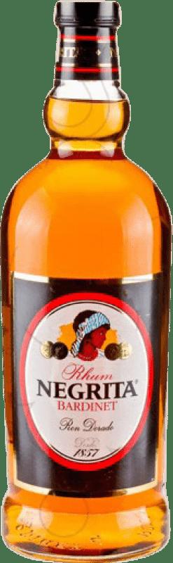 24,95 € 免费送货 | 朗姆酒 Bardinet Negrita Añejo 西班牙 特别的瓶子 2 L