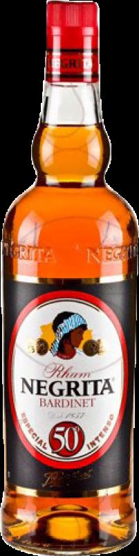 15,95 € 免费送货 | 朗姆酒 Bardinet Negrita Dorado 50º Intenso Añejo 西班牙 瓶子 Misil 1 L