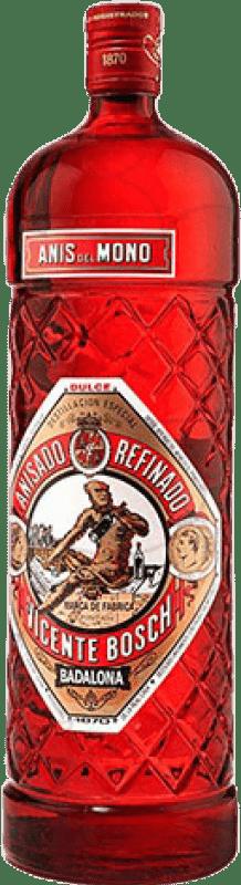 15,95 € 免费送货 | 八角 Anís del Mono Edición Botella Roja 甜美 西班牙 瓶子 Magnum 1,5 L